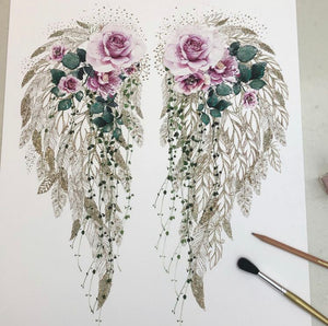 Angel Wings Print