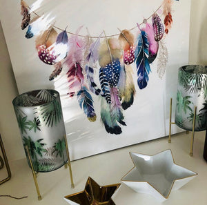 Feather Garland Print - Limited Edition