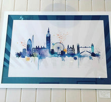 Load image into Gallery viewer, Blue London Skyline Print - Limited Edition