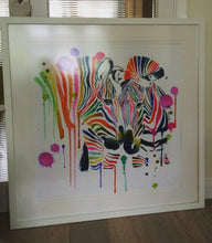 Load image into Gallery viewer, Rainbow Zebra Print - Limited Edition
