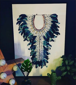 Tribal Necklace Print - Limited Edition