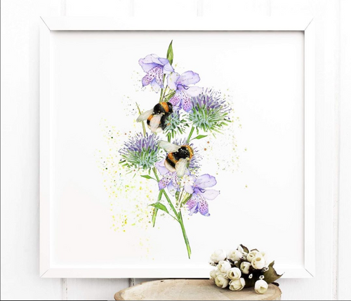Art of Nature Bee Print