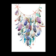Load image into Gallery viewer, Shells & Feather Garland Print - Limited Edition