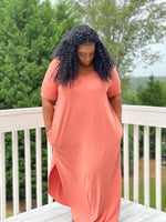 Casual Chic Maxi Dress +