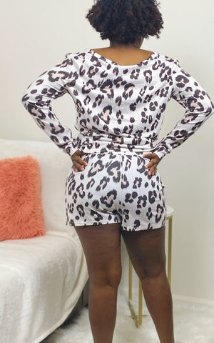 Riley Leopard Set
