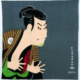 FUROSHIKI UKIYOE Japanese Wrapping cloth Omotenashi Square, LLC #5 SHARAKU