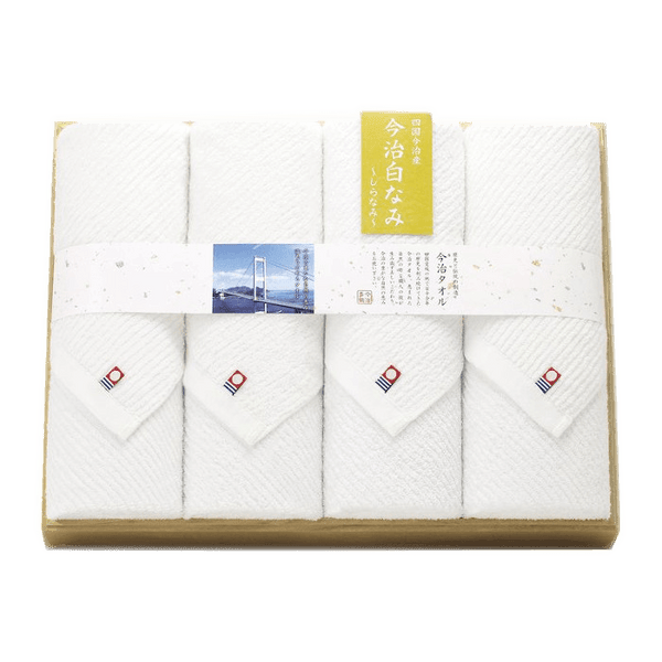 IMABARI-TOWEL SHIRANAMI towel set 576 Omotenashi Square, LLC A