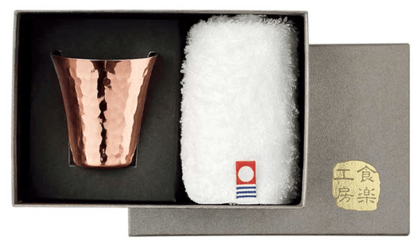 IMABARI-TOWEL & TSUBAME Copper Cup Omotenashi Square, LLC A. 2PC set