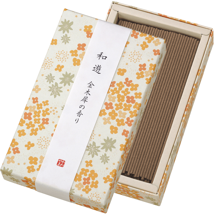 WAYU Incense small 2 boxes Omotenashi Square, LLC Fragrant olive-scented