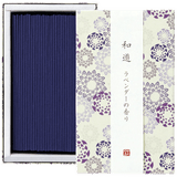WAYU Incense small 2 boxes Omotenashi Square, LLC Lavender-scented