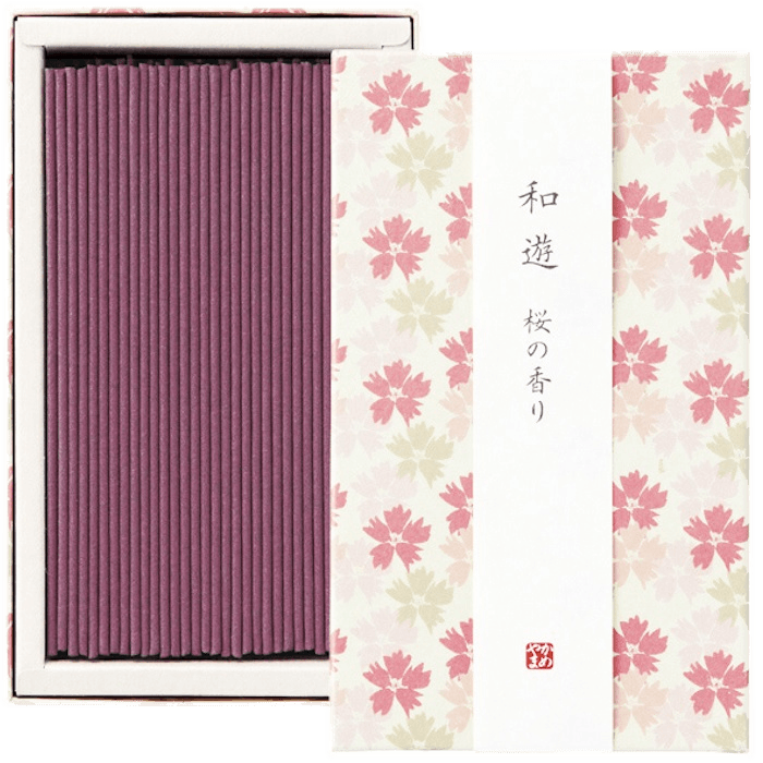 WAYU Incense small 2 boxes Omotenashi Square, LLC Sakura-scented