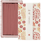 WAYU Incense small 2 boxes Omotenashi Square, LLC White plum-scented