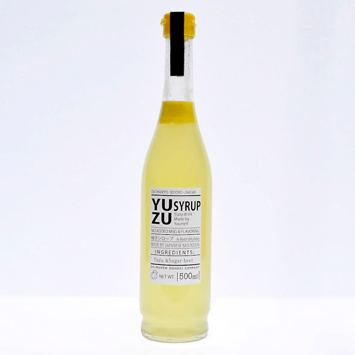 Yuzu Citrus Syrup 500ml set of 3 bottles 499986 Omotenashi Square, LLC Yuzu Syrup