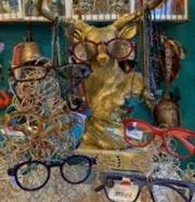 Peepers Reading Glasses with blue lighting.  Please note not available online.