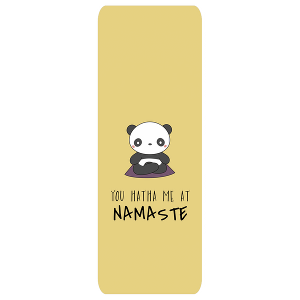 Panda Hatha Mat Yellow | Yogatation original v2 yoga mat - Yogatation