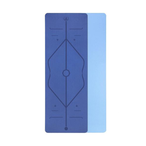BLUE - yogatation original alignment mat - Yogatation