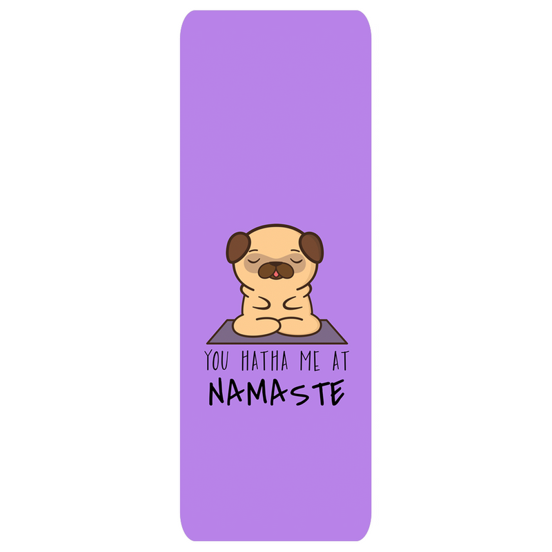 Purple Dog Namaste Mat | Yogatation original v2 yoga mat - Yogatation
