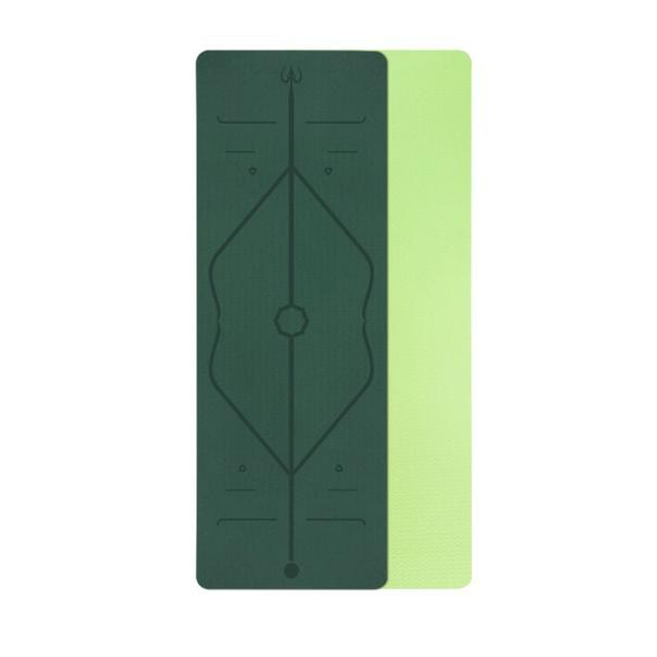GREEN - yogatation original alignment mat - Yogatation