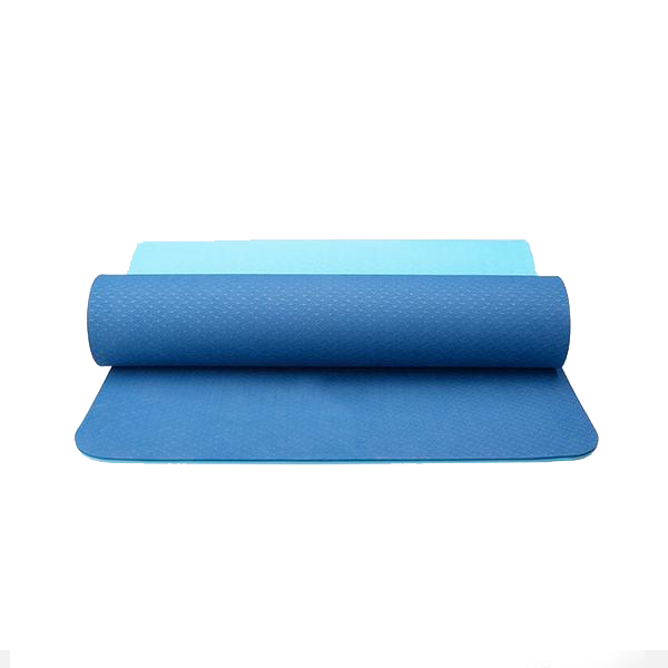 BLUE yogatation original alignment mat - no marks - Yogatation