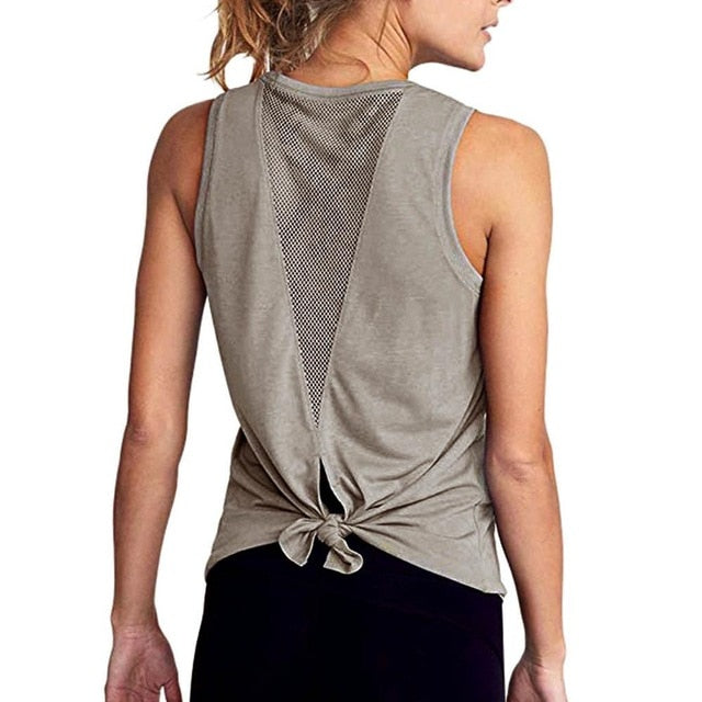 Mesh Back Top - Yogatation