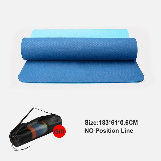 BABY BLUE - yogatation original alignment mat - Yogatation