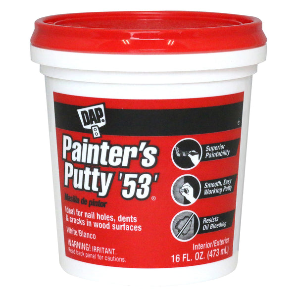 DAP 12242 Pt 53 Painters Putty