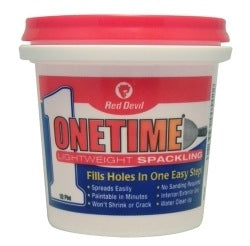 ONETIME® Lightweight Spackling (1/2 Pint)