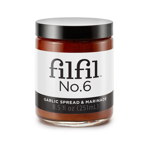 Filfil No.6 Garlic Spread & Marinade