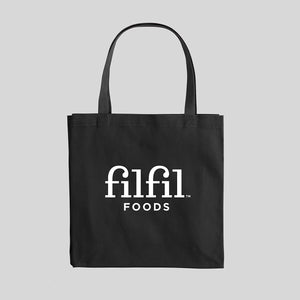 Filfil Black Tote bag