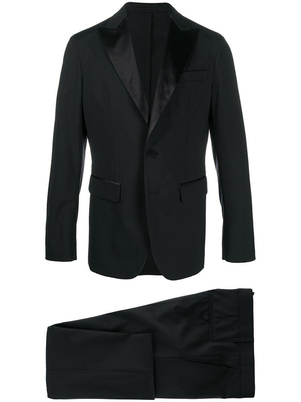 two-piece slim suit - Verso
