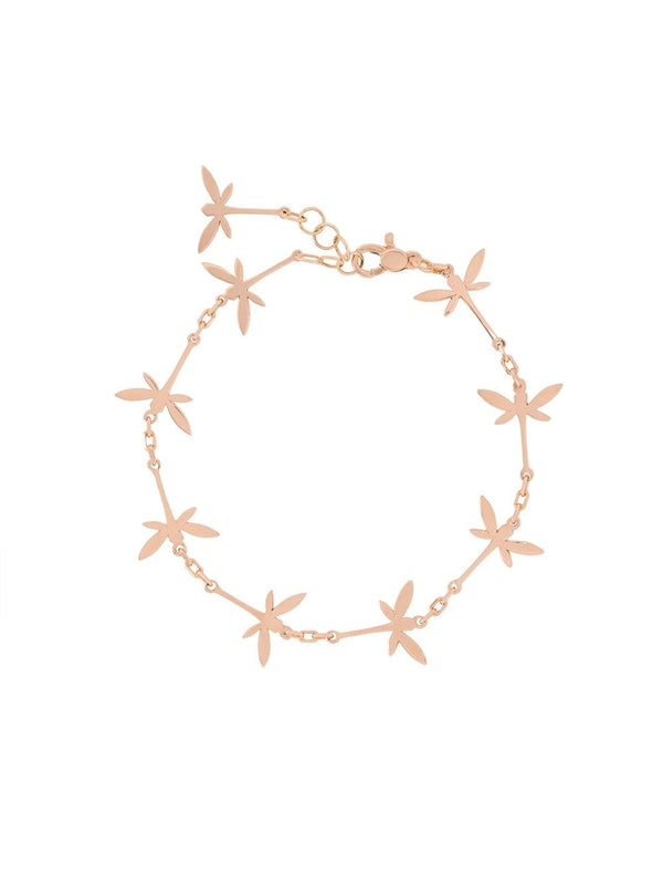 18KT ROSE GOLD DRAGONFLY BRACELET