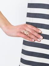 'KNIGHT KISS' RING