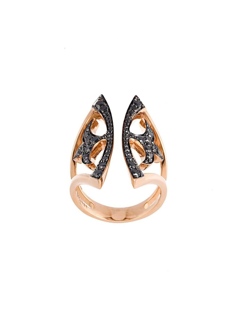 KNIGHT KISS RING - Verso