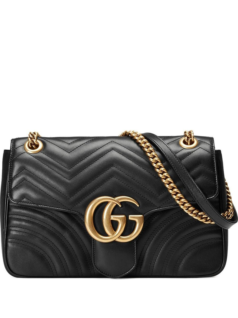 GG Marmont medium matelassé shoulder bag - Verso