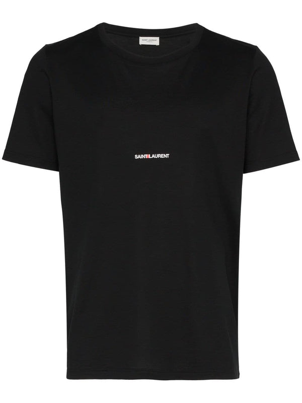 <span style='color:#cdb891'>SAINT LAURENT</span><br/> LOGO PRINT T-SHIRT