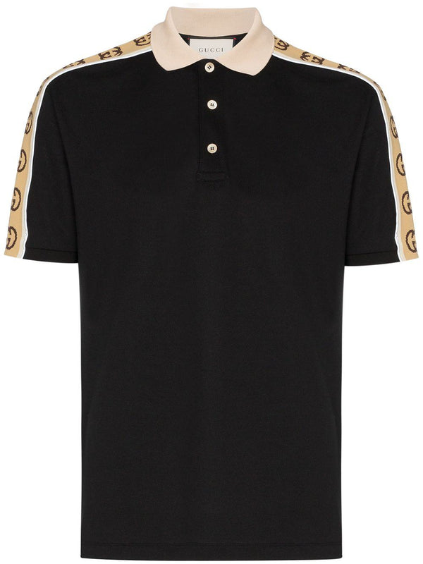 GG stripe polo shirt