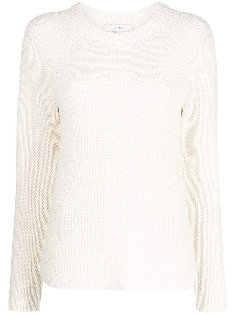 ribbed knit jumper - Verso