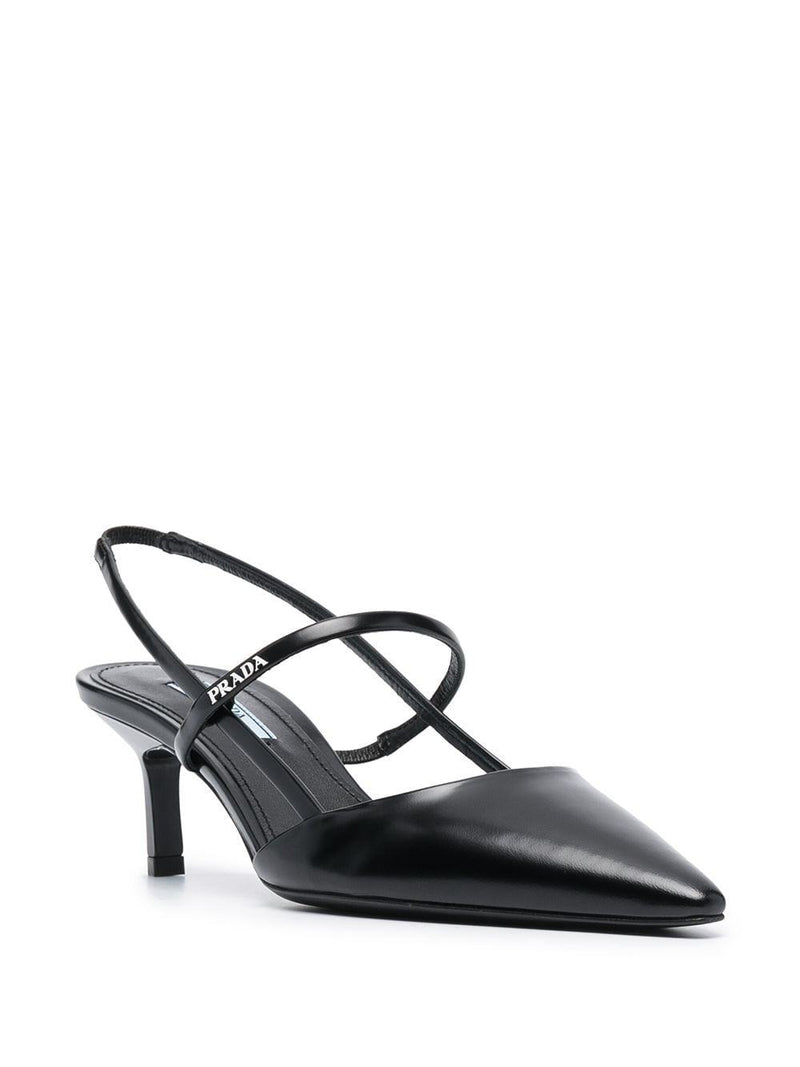 pointed slingback pumps - Verso