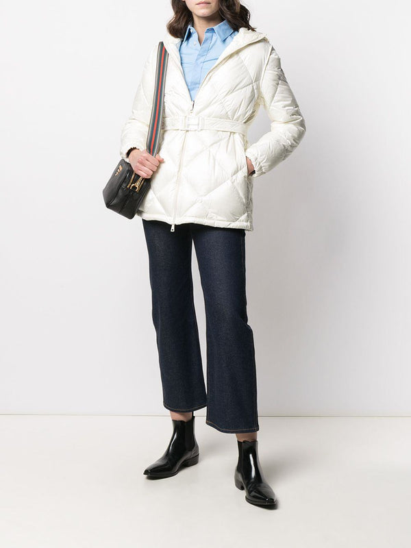 quilted zip-up jacket - Verso