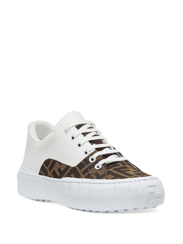logo-print low-top sneakers