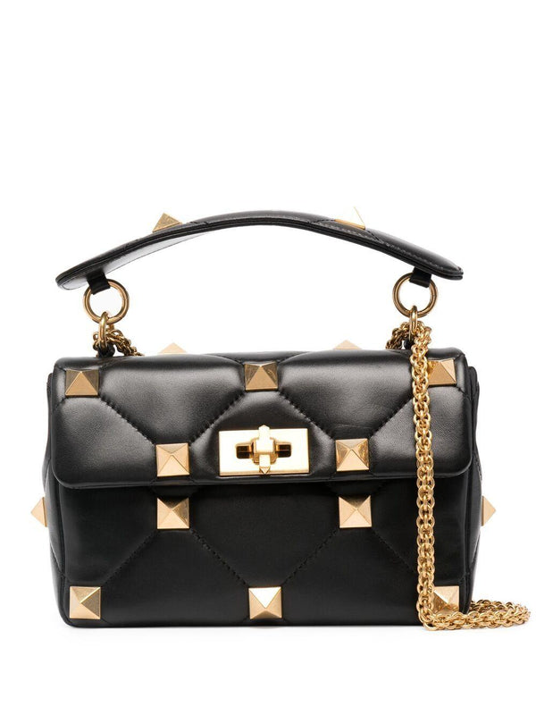 Rockstud quilted crossbody bag