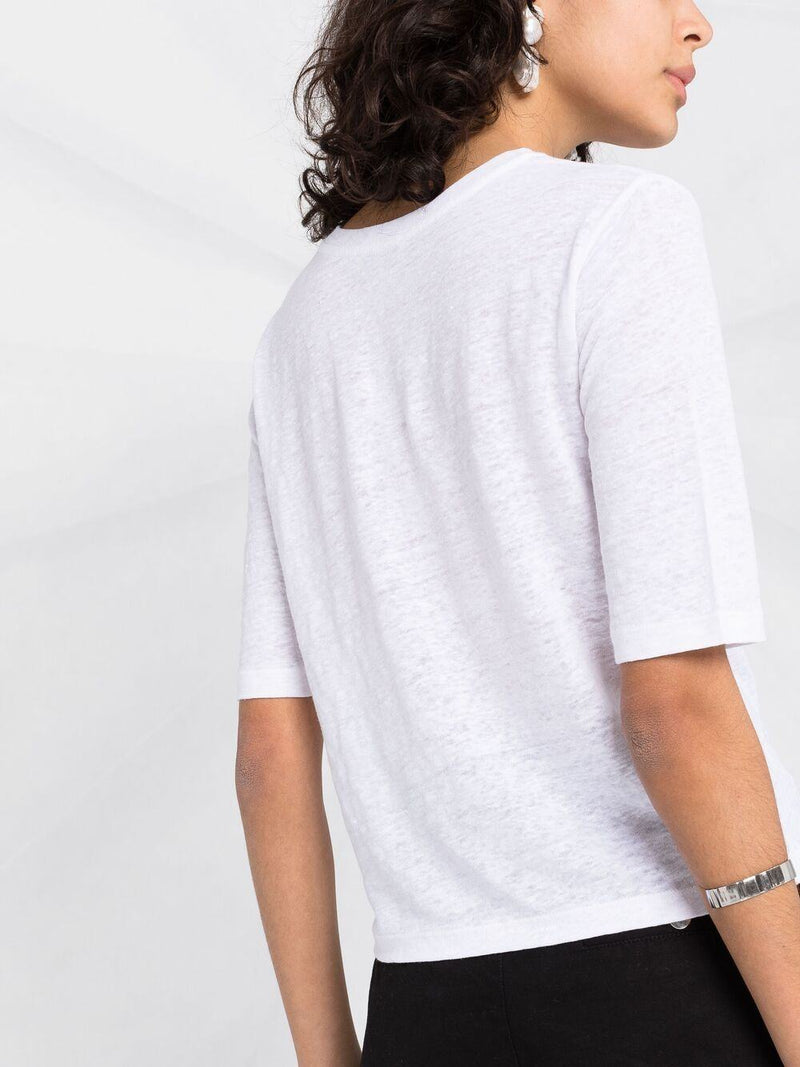 slim-sleeve T-shirt - Verso