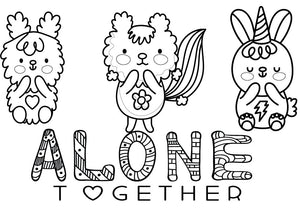Doodle Tee -Alone Together