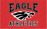 "Uniform Long Sleeve Performance Shirt YOUTH - ""Eagle Athletics"""