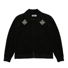 Load image into Gallery viewer, Sejadda Mejwez Corduroy Zip Jacket (Black)