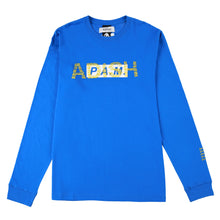 Load image into Gallery viewer, ADISH x P.A.M Logo Long Sleeve Shirt (Blue)