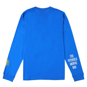 ADISH x P.A.M Logo Long Sleeve Shirt (Blue)