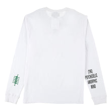 Load image into Gallery viewer, ADISH x P.A.M Logo Long Sleeve Shirt (White)