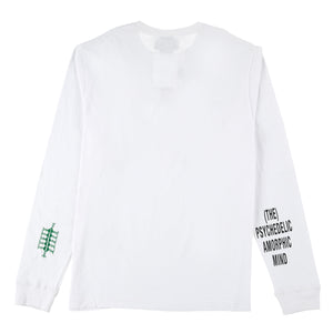 ADISH x P.A.M Logo Long Sleeve Shirt (White)