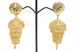 CIRCLE 4 LAYER JHUMKA EARRING